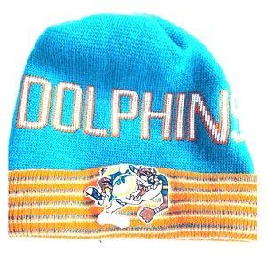 Miami Dolphins Football Taz Hat Tasmanian Devil